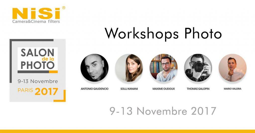 Workshop Astrophotographie au Salon de la Photo 2017 à Paris